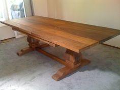 Ash Pedestal Table, Retail $1950