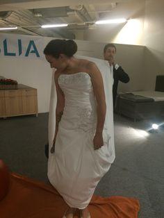 Klar for brudekjoleshow