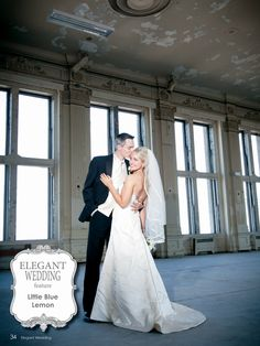 E.W. - Real Wedding Feature Photography by: Little Blue Lemon