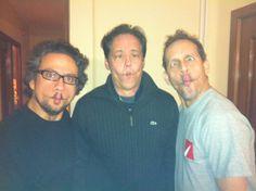 Luis Del Valle, Sully Bonelly and Victor Ramírez.