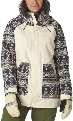 Burton Women's Eastfall Insulated Jacket Canvas/Black Mojave S Snowboarding Outfit, Snowboarding Women, Burton Snowboards Women, Pants For Women, Jackets For Women, Clothes For Women, Snow Outfit, Jackets Online, Custom Clothes