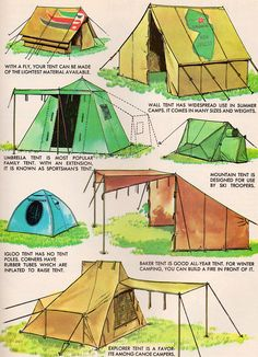 The Big Golden Book of Camping and Camp Crafts by my vintage book collection (in blog form), via Flickr