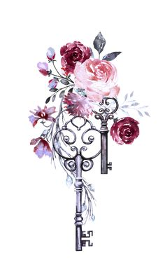 Mandala Art Wallpaper Iphone Wallpapers Ideas For 2019 Mandala Art, Purple Peonies, Bild Tattoos, Keys Art, Cute Wallpapers, Iphone Wallpapers, Beautiful Tattoos, Flower Tattoos, Floral Watercolor