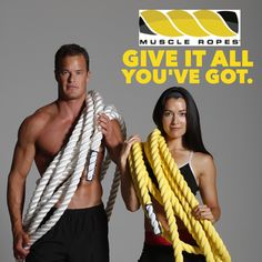 Train with Muscle Ropes and make it count! Shop now. --> http://muscleropes.com