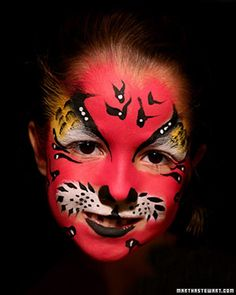 Last-Minute Halloween Costume: Face Paint