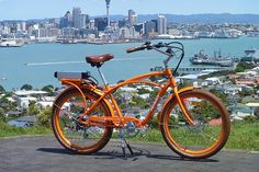 A New Zealander takes an extended ride on a Pedego electric-assist Comfort Cruiser and finds his opinion about ebikes changed.