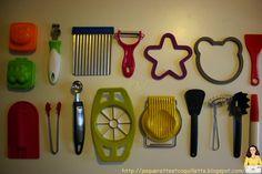 Paquerette et Coquillette: Matériel montessori pour la cuisine