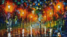 Just discovered Leonid Afremov, want one