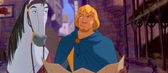 Day 4: Favorite Prince - Captain Phoebus [[I went with a favorite hero, as I tend to find most of the princes quite silly]]