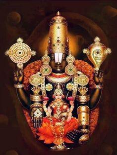 Sri Venkateswara Swamy (via TIRUMALA TIRUPATI VAIBHAVAM)