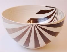 "Bowl by Jill Rosenwald Manray: Beautiful handmade ceramic, 4 x 9"". On sale $119.99"