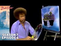 Bob Ross - Misty Waterfall (Season 7 Episode 6) - YouTube Bob Ross Painting Videos, Bob Ross Paintings, Oil Paintings, Landscape Paintings, Oil Painting Lessons, Acrylic Painting Lessons, Acrylic Painting Tutorials, Bob Ross Youtube, Bob Ross Art