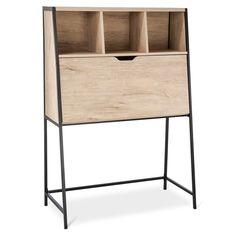 darley secretary desk vintage oak threshold la apartment rh pinterest com