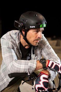 Kurt Yaeger productor de cine y atleta BMX también prefiere la Drift HD Ghost!