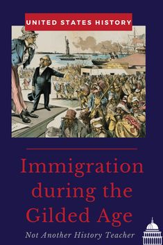 Enhance your teaching with this Gilded Age Lesson! Students will Jigsaw different readings about different immigrant experiences during the Gilded Age. There are a cartoon activity and a PowerPoint and journal assignment. This is a full 55-minute lesson! Not only will this lesson lead your students to master critical thinking skills, but it will make your life much easier. What are you waiting for? Add it to your cart to make this year a breeze.