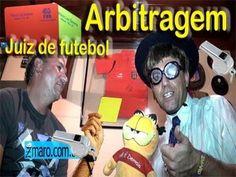 Zmaro aprende sobre Arbitragem, Juiz de Futebol, apitar jogos e afins com Rubinho