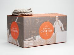 Island Creek Oysters Packaging