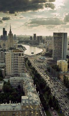 2014 New Arbat Avenue, Moscow, Russia | Проспект Калинина (Новый Арбат) by Andrey Permitin