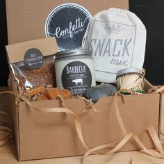 Barbecue Gift Box / Grilling Gift / Gift by ConfettiGiftCompany
