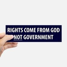 Conservative Bumper Bumper Sticker for