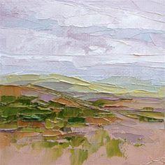 "Daily Paintworks - ""Landscape Three"" - Original Fine Art for Sale - © Diane…"