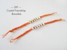 Thanks, I Made It: DIY Crystal Macrame Bracelet for TAGG