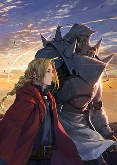Fullmetal Alchemist Brotherhood Edward Elric Alphonse Elric