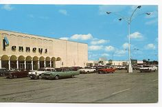 1950's parking lot | Playle's: Lima Mall, Lima, OH - JC Penney department store, parking ...