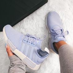 The Coolest Adidas Running Shoes - Inspired BeautyYou can find Running shoes nike and more on our website.The Coolest Adidas Running Shoes - Inspired Beauty Moda Sneakers, Cute Sneakers, Adidas Sneakers, Shoes Sneakers, Adidas Nmd R1, Adidas Nmd Blue, Blue Adidas Shoes, Addias Shoes, Nike Tenis