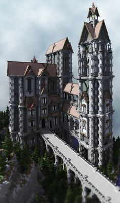 Castle Windshire │ Blockstorm Creations Minecraft Project