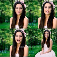 Photo from teamshraddhafc Bollywood Stars, Bollywood Fashion, Bollywood Actress, Prettiest Actresses, Beautiful Actresses, Bollywood Hairstyles, Shraddha Kapoor Cute, Half Girlfriend, Sraddha Kapoor
