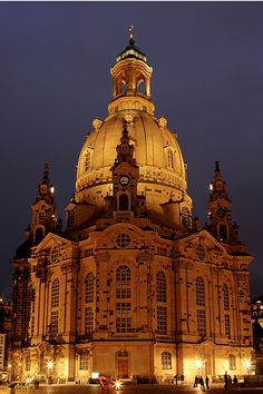 Frauenkirche - Dresden #Germany