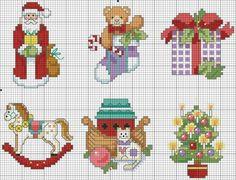 Os melhores gráficos de Natal em ponto cruz! - Fio de Ouro Crafts