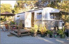 Big Sur - Vintage Avion trailer, like ours