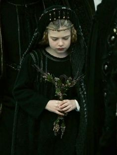 Home is now behind... the world is ahead. Isobel Moynihan as young Isolde in Tristan + Isolde - 2006