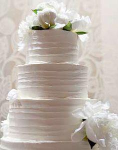 My cake but with pink peonies :) #weddingcake #weddings
