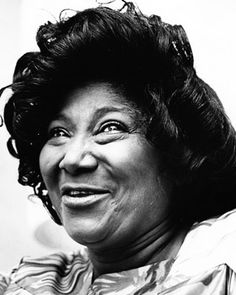 Mahalia Jackson.  what a voice & vision.