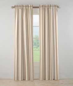 Music Stripe Rod Pocket Curtains Was: $63.96 - $79.96                         Now: $54.99 - $64.99