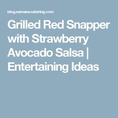 1000+ ideas about Grilled Red Snapper on Pinterest | Snapper Recipes ...