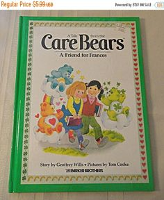 ON SALE  1983 Care Bears Tale: A Friend For by 1kingsdaughter