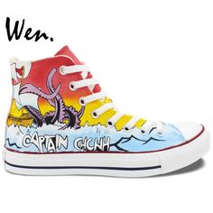 51ca00bc596f WEN Men Women Hand Painted Shoes Design Custom Chunk No