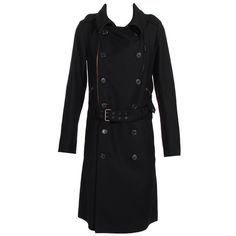 Double-breasted coat found on Polyvore    mesfringues.blogspot.com