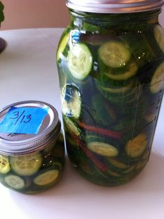 RAW RECIPE: Bread & Butter Pickles | Raw Food Betsy