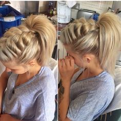 5 Braided Ponytail Looks #Beauty #Trusper #Tip