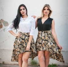Quando duas beldades se juntam😍  @rafaelalhima usando nossa bata branca com a saia mullet e @querenhrocha divando no body preto e saia mullet.  #tessalias #moda #blusa #blusas #divas  #tessalias #moda #lovetessalias #selfie #cute #phototheday #fotododia #babado #picoftheday #fashion #style #beauty #vestido #estilo #look #looktheday #photo #dujuor #ootd #ootn #outfit #modafeminina