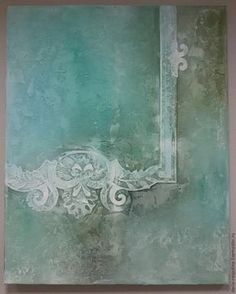 Do It Yourself / DIY. Large Wall Stencil, Stencil Art, Shabby Chic Painting, Diy Painting, Patterns Background, Venetian Plaster Walls, Victorian Wallpaper, Rustic Colors, 3d Wall Art