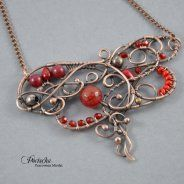 Red orient - necklace