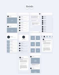 Liner Wireframe Kit by aizotov on Creative Market