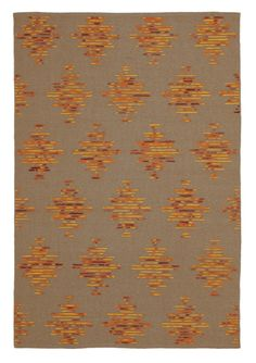 Spice up your home with our Hacienda flatweave rug in Paprika. #paprika #orangerugs #flatweaverugs