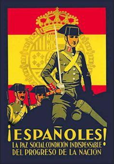 Propaganda (Vintage Art) Pictures, Prints, Paintings & Wall Art for Sale Vintage Ads, Vintage Posters, Spanish War, Public Security, Propaganda Art, Political Posters, Ms Gs, Art Pictures, Poster Prints